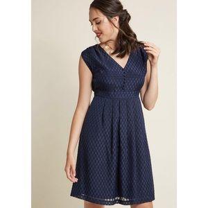 New ModCloth Blue Dress.   A